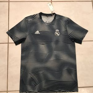 NWT ADIDAS Real Madrid Pre-Match Jersey DP2920